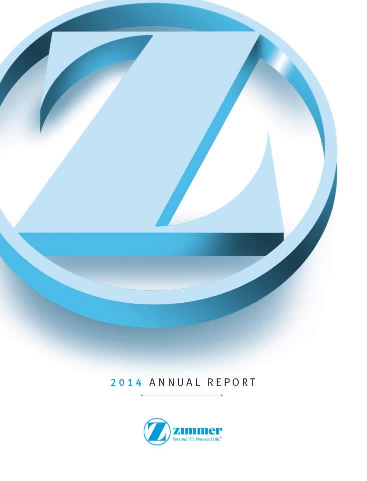 annual reports  u2013 zimmer biomet